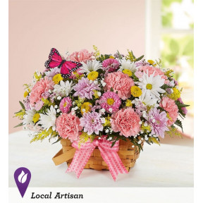 Blossoming Blooms™ Basket (Small)
