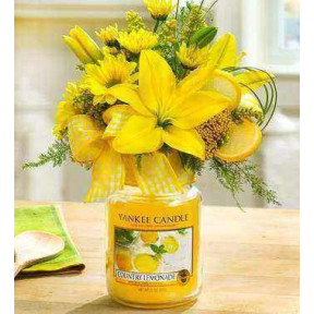 Country Lemonad Yankee Candle Bouquet