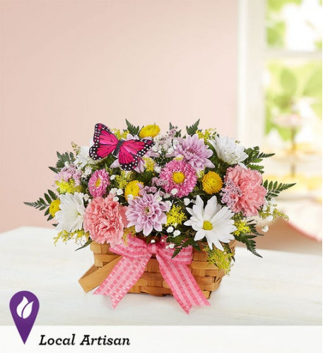 Blossoming Blooms Basket (Small)