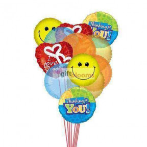 Lovely Balloons    (  6-Latex Balloons )
