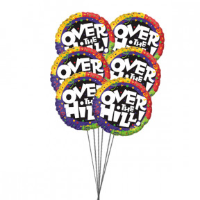 Memorable Birthday Balloons (6 Mylar Balloons)