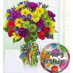 It's Your Day Bouquet® Happy Birthday (Small)