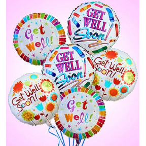 Air-Rangement - Get Well Mylar Balloons