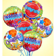 Air-Rangement - Congratulations Mylar Balloons    ( Medium )