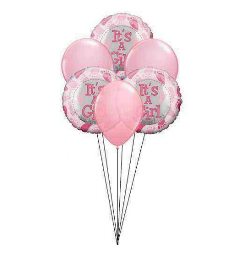 Balloons for little beauty (6 mylar balloons)
