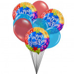 Sober gift for you (6 Latex & 3 Mylar Balloons)
