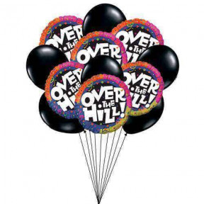 Memorable Birthday Balloons    (  6 Mylar and 6-Latex Balloons )
