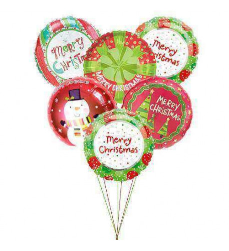 Warmest wishes balloons (6 Mylar)