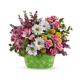 Basket Of Beauty Bouquet (Standard)