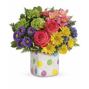 Happy Dots Bouquet (Deluxe)