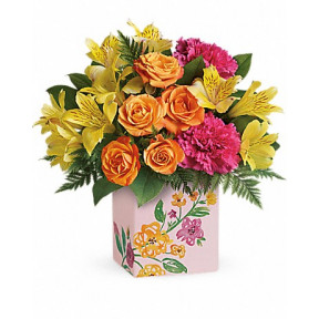 Painted Blossoms Bouquet (Standard)