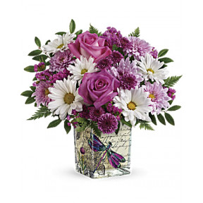 Wildflower In Flight Bouquet (Standard)