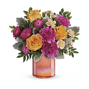 Perfect Spring Peach Bouquet (Standrad)