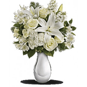 Shimmering White Bouquet (Standard)