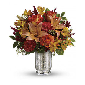 Fall Blush Bouquet (Deluxe)