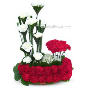 Arrangement of Carnations