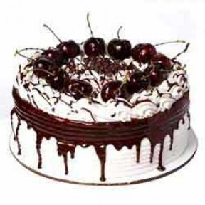 2 kg Eggless Blackforest Cake