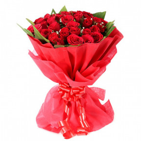 Beautiful 24 Red Rose Bouquet
