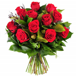 Best Red Roses Bouquet 10 Flowers