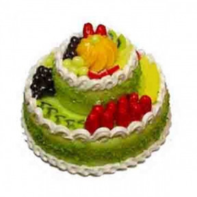 2 Tier mix fruit Cake