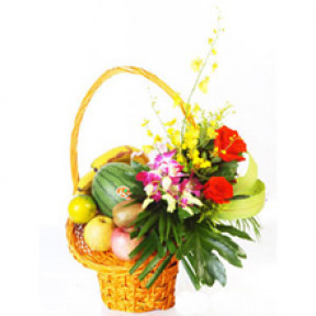 Flower fruit basket B