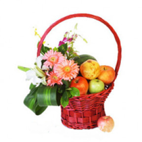 Flower Fruit Basket C