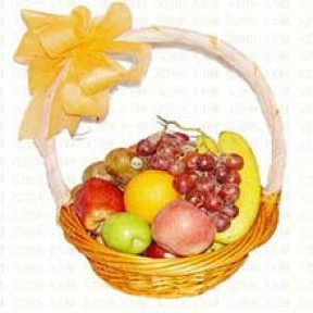 Heart fruit basket