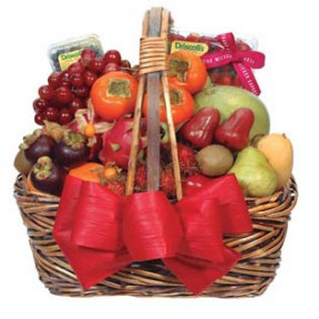 Fancy Fruit Basket D