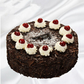 Black forest cake (10 Inches)