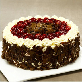 Black forest cake B (10 Inches)