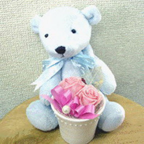 Cute Blue Teddy
