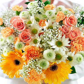 Fresh Flowers in Bouquet