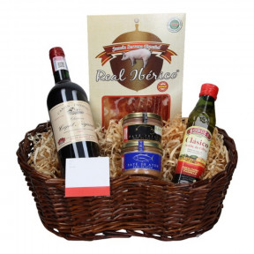 Red Wine basket Chateau Capet Begaud