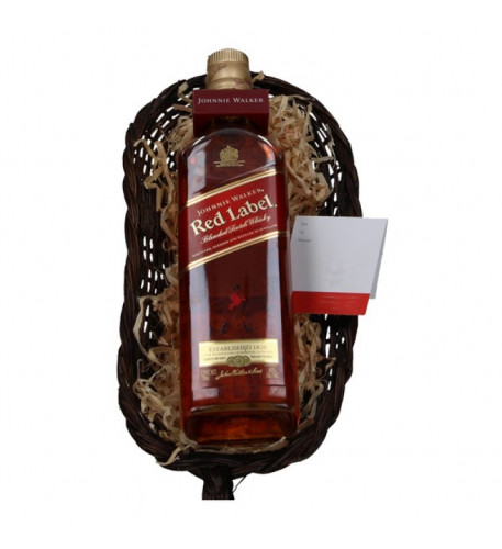 Johnnie Walker Red Label whiskey