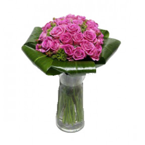Bouquet of 24 Roses Lilas