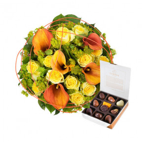 Charming Gold and Godiva Chocolates