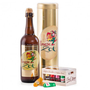 Luxury Belgian Beer & Beer-Filled Chocolates