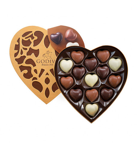 Godiva Coeur Selection, 14 pcs