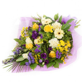 Purple & Gold Bouquet (Standard)