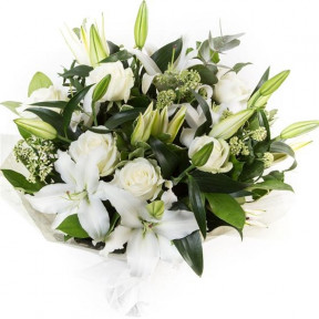 White Lilies & Roses (Small)