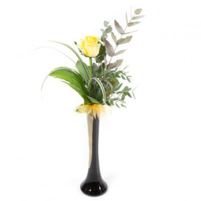 Single Yellow Rose (Small)