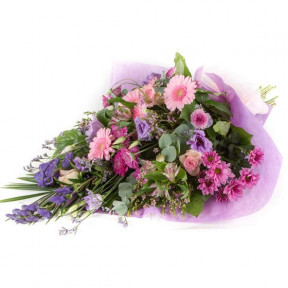 Pink and Lilac Traditional Bouquet (Small)