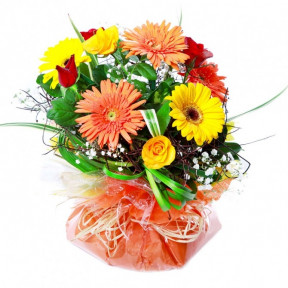 Colorful Posy