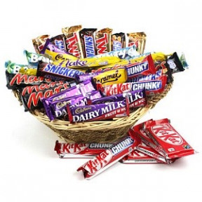 Assorted Choco Lover Basket