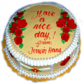 Have A Nice Day Cake
