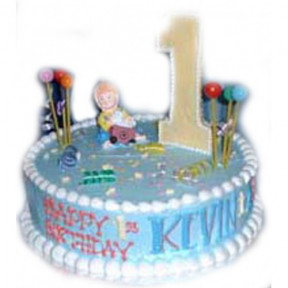 Kevin Birthday Cake