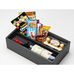 Sparkling Juice and  Sweets Box