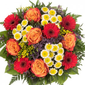 Flower Bouquet Greetings