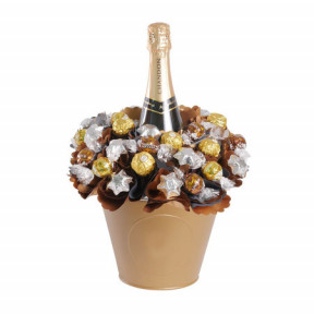 Luxury Chandon Chocolate Bouquet