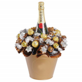 Luxury Moet Chocolate Bouquet